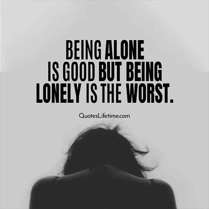 About being alone status 101+ *SAD*
